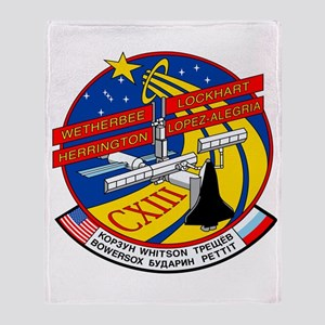 Columbia STS-113 Throw Blanket