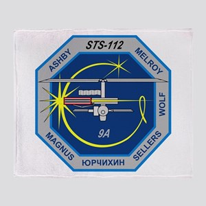 STS-112 Atlantis Throw Blanket