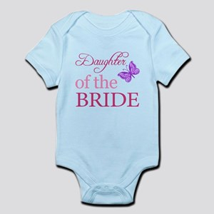 Daughter Of The Bride (Butterfly) Infant Bodysuit