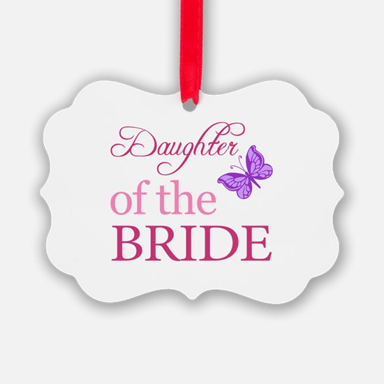 Daughter Of The Bride (Butterfly) Ornament
