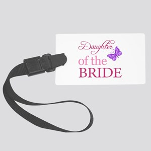 Daughter Of The Bride (Butterfly) Large Luggage Ta