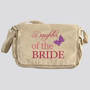 Daughter Of The Bride (Butterfly) Messenger Bag