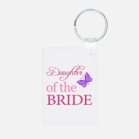 Daughter Of The Bride (Butterfly) Keychains