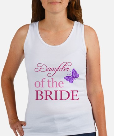 Daughter Of The Bride (Butterfly) Women's Tank Top