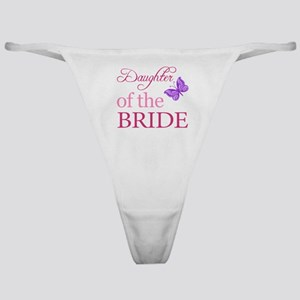 Daughter Of The Bride (Butterfly) Classic Thong