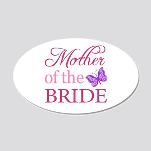 Mother Of The Bride (Butterfly) 20x12 Oval Wall De