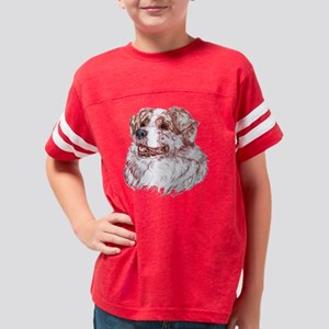 Australian Shepherd Youth Football Shirt