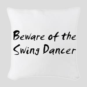 swing49 Woven Throw Pillow