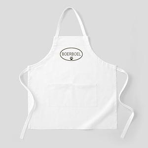 Oval Boerboel BBQ Apron