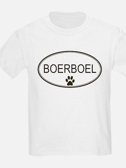Oval Boerboel Kids T-Shirt