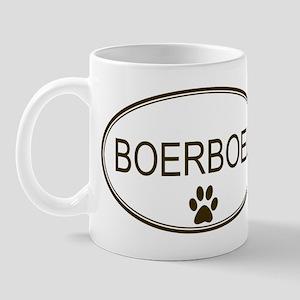 Oval Boerboel Mug