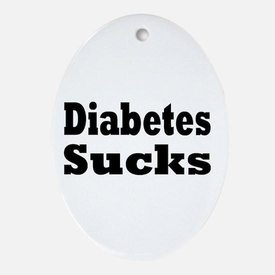 Diabetes Ornament (Oval)