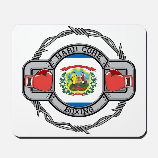 West Virginia Boxing Mousepad