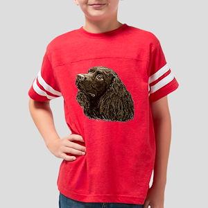 American Water Spaniel Youth Football Shirt