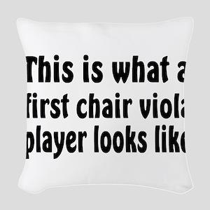Viola Woven Throw Pillow