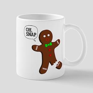 Oh Snap Gingerbread Man Mug