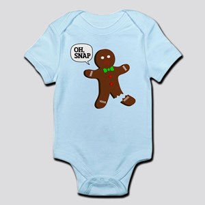 Oh Snap Gingerbread Man Body Suit