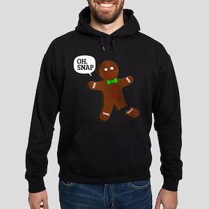 Oh Snap Gingerbread Man Hoodie
