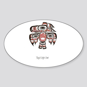 Eagle Crest, Tlingit Alaskan Native Art Sticker