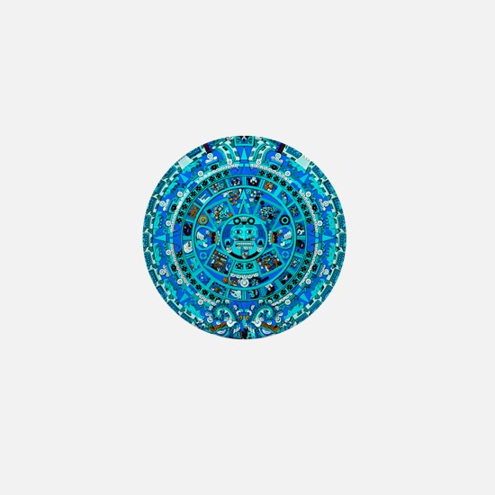 Ancient Mayan Calendar Mini Button