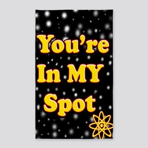 Youre In My Spot 13 3'x5' Area Rug