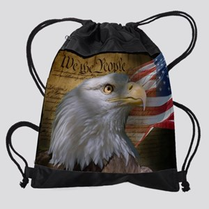 We The People Drawstring Bag