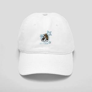 Let it Snow Basset Cap