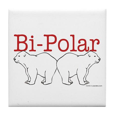 Bi-Polar Tile Coaster