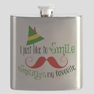 Smilings my favorite Flask