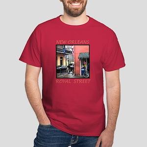 FRENCH QUARTER GROCERY Dark T-Shirt