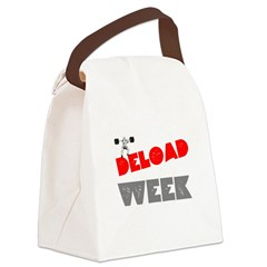 DELOAD WEEK Canvas Lunch Bag