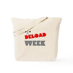 DELOAD WEEK Tote Bag