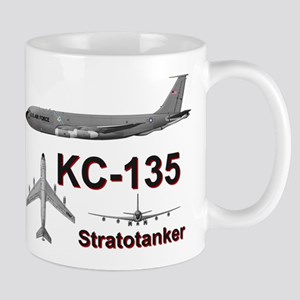 KC-135A Stratotanker Refueling B-52 Mug