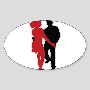 Dancers - Dancing - Date - Couple - Romance Sticke