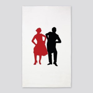 Dancers - Dancing - Date - Couple - Romance 3'x5'