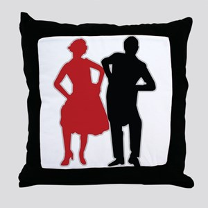 Dancers - Dancing - Date - Couple - Romance Throw