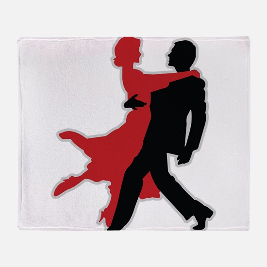 Dancers - Dancing - Date - Couple - Romance Throw