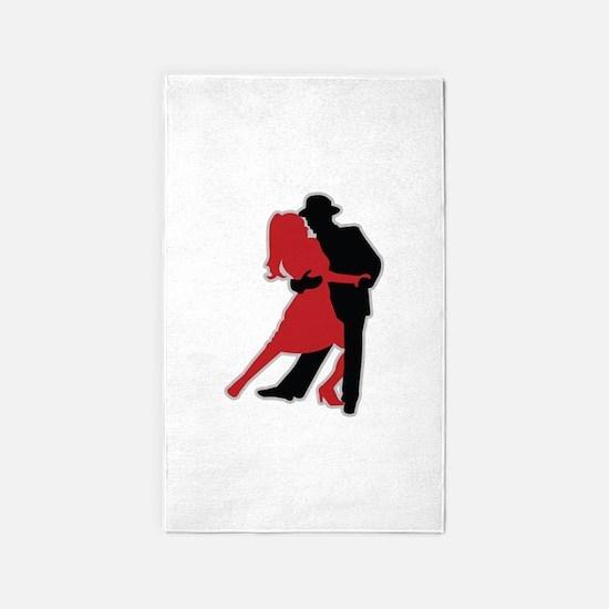 Dancers - Dancing - Date - Couple - Romance 3'x5'