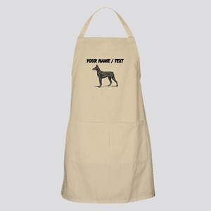 Custom Doberman Sketch Apron