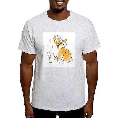 Champagne Corgi T-Shirt
