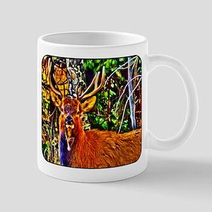 Deer - Elk - Nature - Hunter - Art Mug
