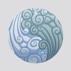 Elemental Air - Yin Yang - Balance - Wind Ornament