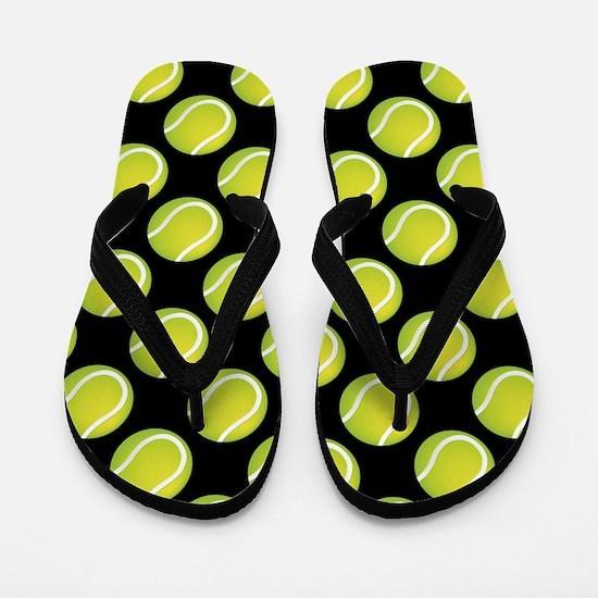 Tennis Balls Flip Flops