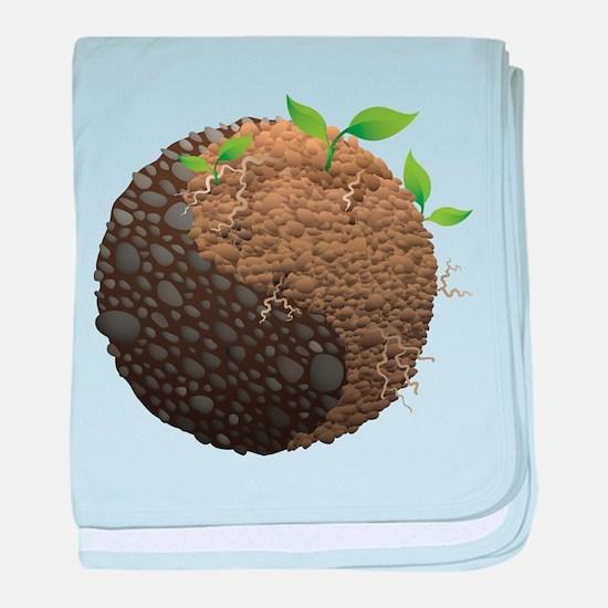 Elemental Earth - Dirt - Stone - Yin Yang - Balanc