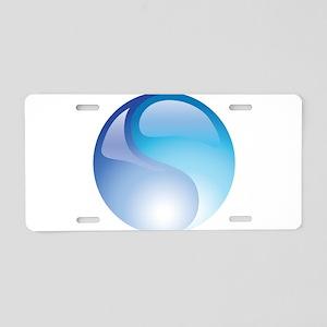 Elemental Water - Yin Yang - Blue - Balance Alumin