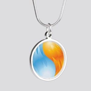 Fire and Ice - Yin Yang - Balance Necklaces