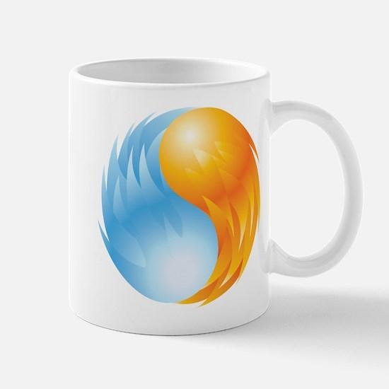 Fire and Ice - Yin Yang - Balance Mug