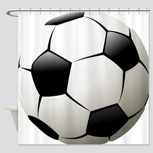 Soccer - Football - Sports - Athlete Shower Curtai