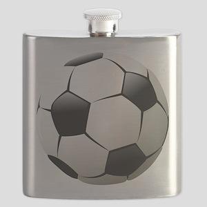 Soccer - Football - Sports - Athlete Flask
