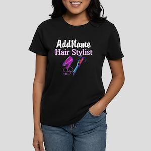 SNAZZY HAIR STYLIST Women's Dark T-Shirt